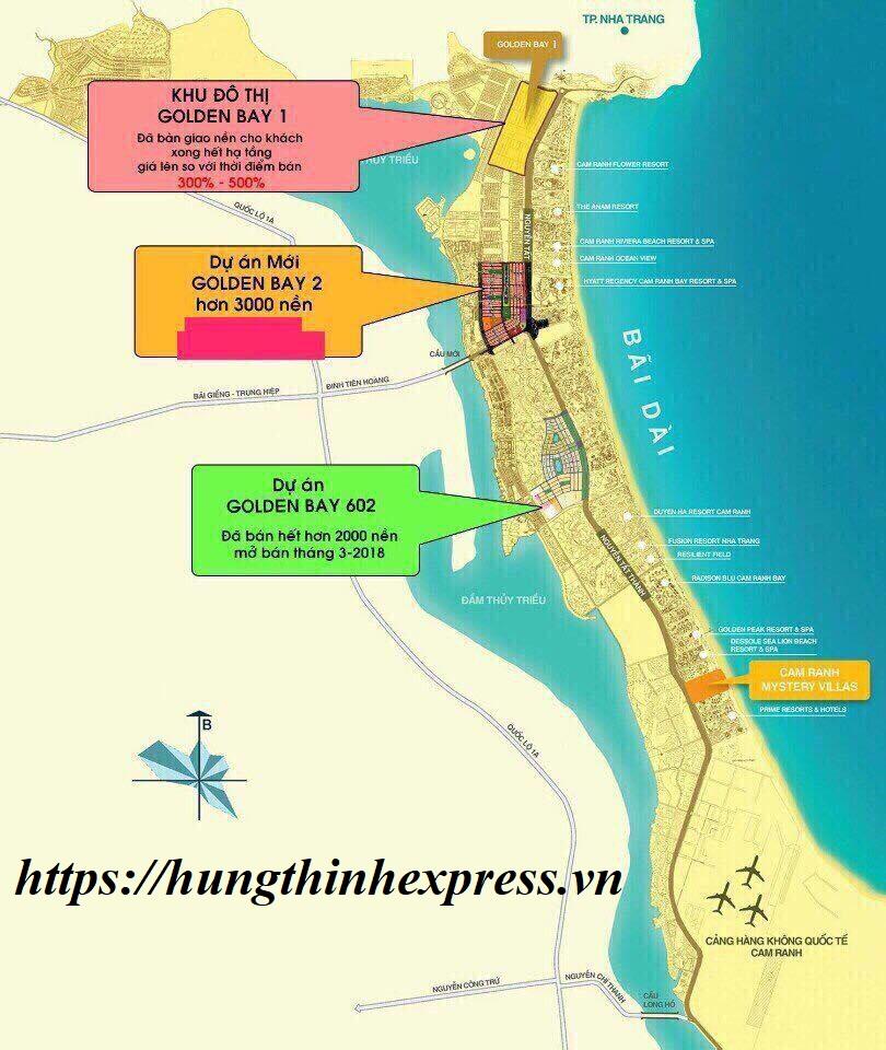 Golden Bay Cam Ranh mang tài lộc và thịnh vượng đến với gia chủ