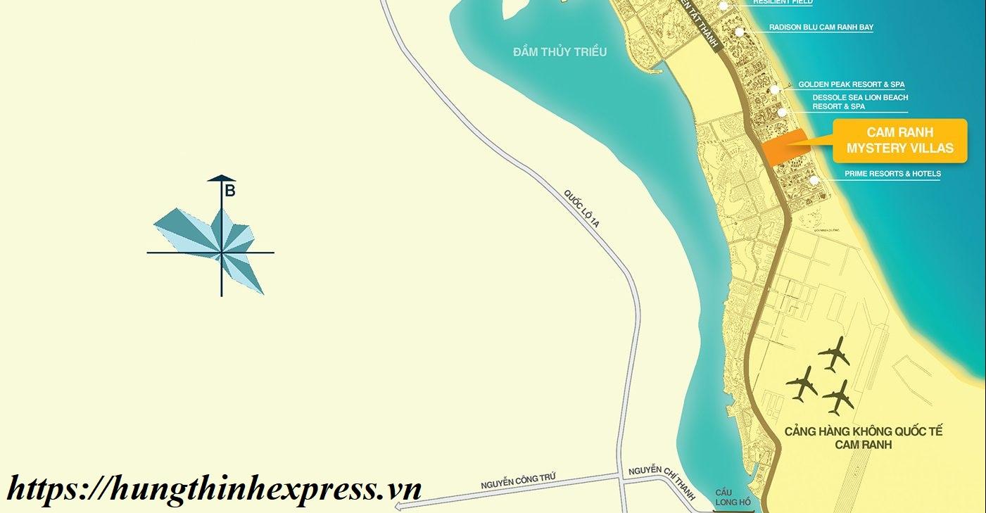 Cam Ranh Mystery Villas khu biệt thự biển cao cấp bậc nhất