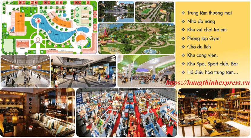 Những tiện ích hấp dẫn tại khu đô thị KN Paradise Cam Ranh