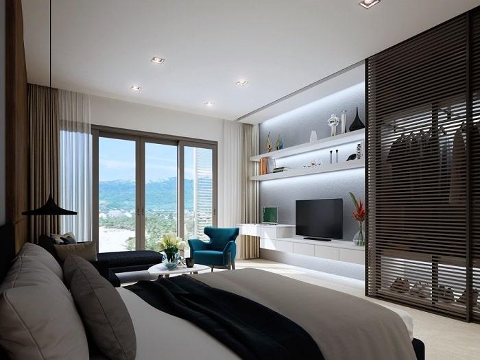 Phòng ngủ tại căn hộ thuộc dự án Thi Sách Vũng Tàu