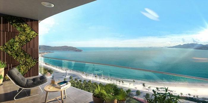 View của các căn hộ tại Liberty Quy Nhơn 90% đều hướng ra biển