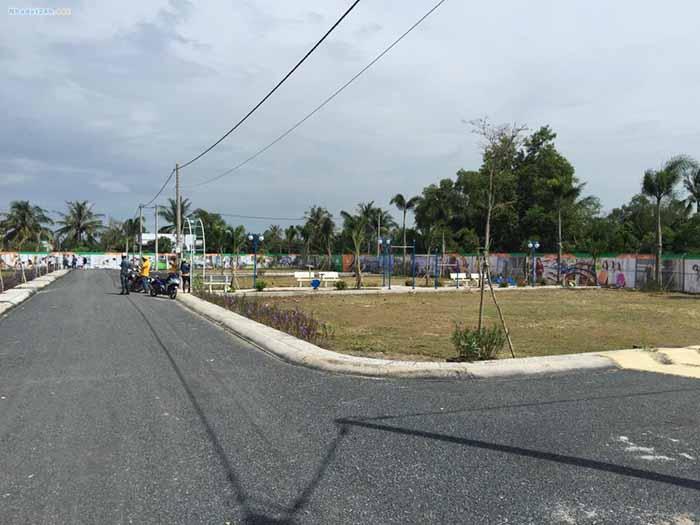 Hình ảnh thực tế về dự án đất nền Hưng Thịnh Vĩnh Long 2
