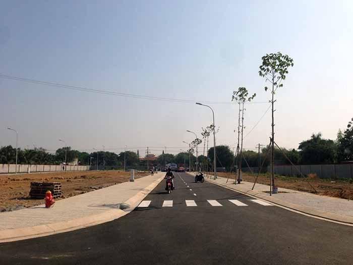 Hình ảnh thực tế về dự án đất nền Hưng Thịnh Vĩnh Long 1
