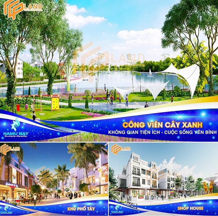 Các tiện ích tại dự án Hamubay Phan Thiết
