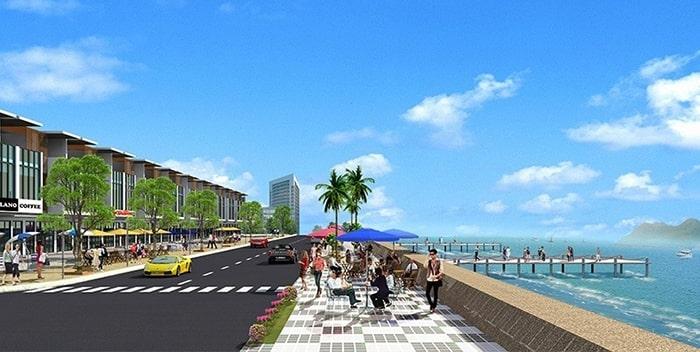 View nhìn hướng ra biển của dự án Hamubay Phan Thiết