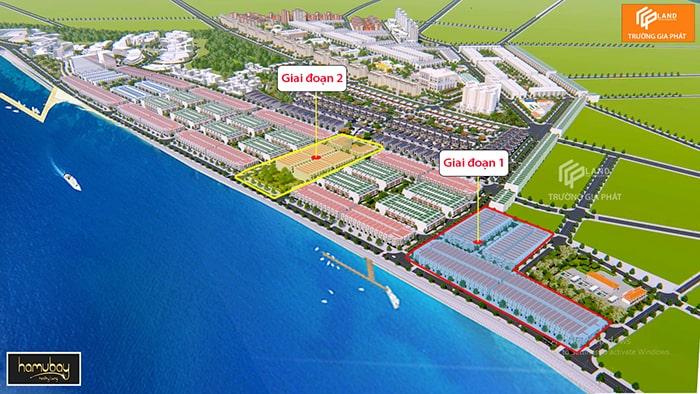 Giai đoạn xây dựng dự án Hamubay Phan Thiết