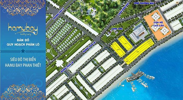 Bán đất nền tại khu đô thị biển Hamubay, Phan Thiết