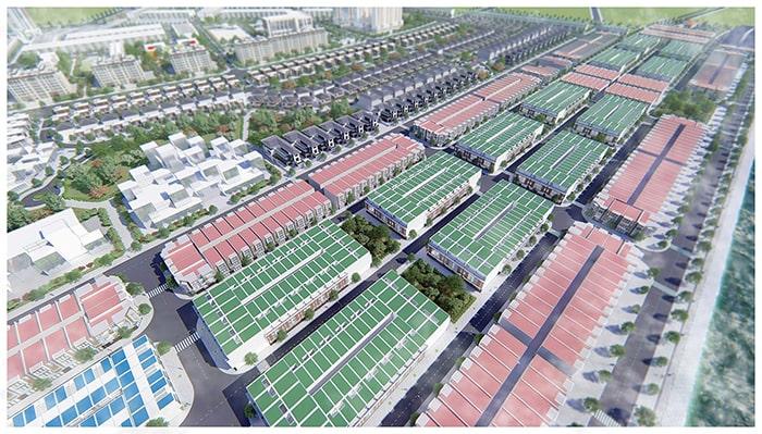 Hình ảnh mặt bằng dự án Hamubay Phan Thiết chụp từ trên cao