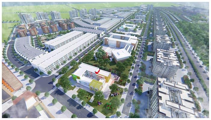 Góc nhìn tổng quan về dự án Hamubay Phan Thiết từ trên cao