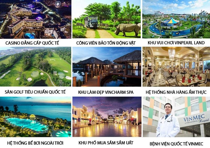 Tiện ích tại dự án Grand World Phú Quốc