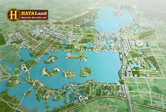 Mặt bằng dự án khu nghỉ dưỡng NovaWorld Phan Thiết