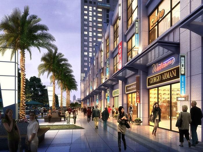 Shophouse tại dự án Vinhomes Smart City Đại Mỗ Tây Mỗ