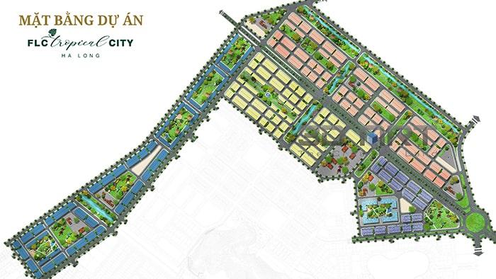 Mặt bằng tổng quan dự án FLC Tropical City Hà Khánh