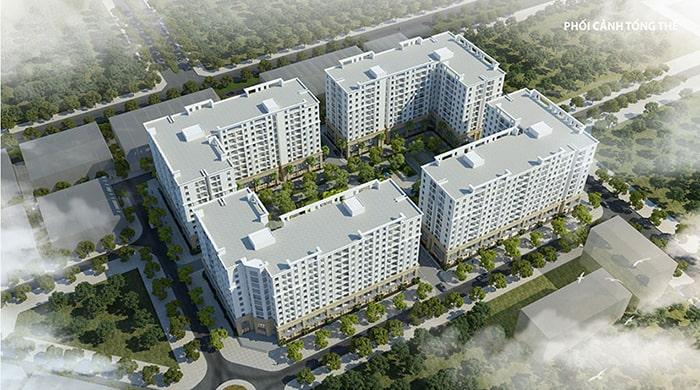 Phối cảnh chung cư FLC Hà Khánh – FLC Tropical City Hạ Long