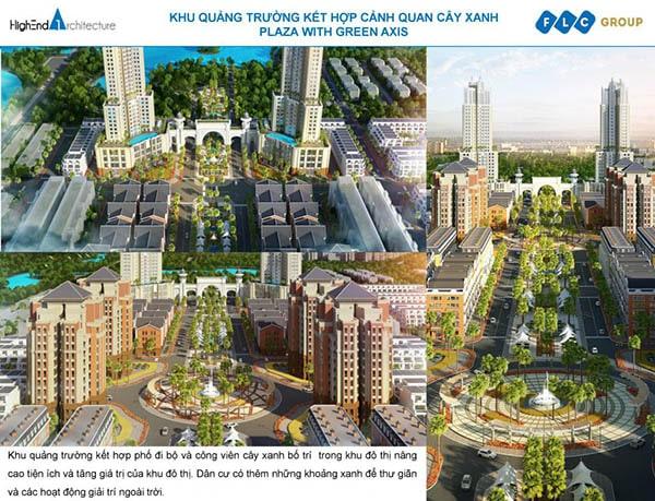 Tiện ích tại dự án FLC Bắc Giang