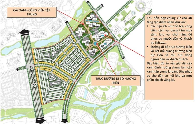 Tiện ích nội khu dự án khu đô thị sinh thái Nhơn Hội