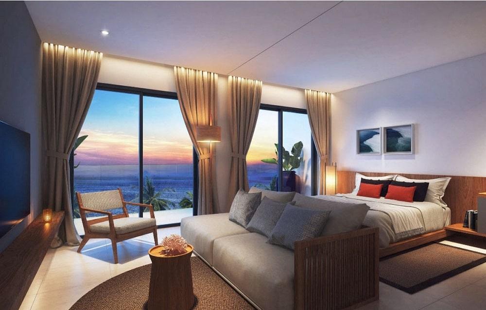 Nhà mẫu căn hộ Condotel dự án The Pearl Cam Ranh 1