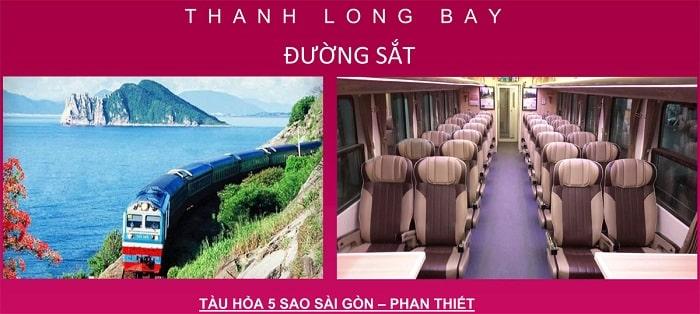 Cơ sở hạ tầng đường sắt tại Thanh Long Bay