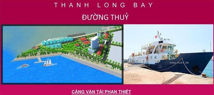 Cơ sở hạ tầng đường thủy tại Thanh Long Bay