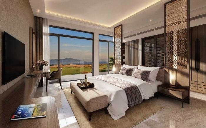 Phòng ngủ căn hộ tại KN Paradise Nha Trang