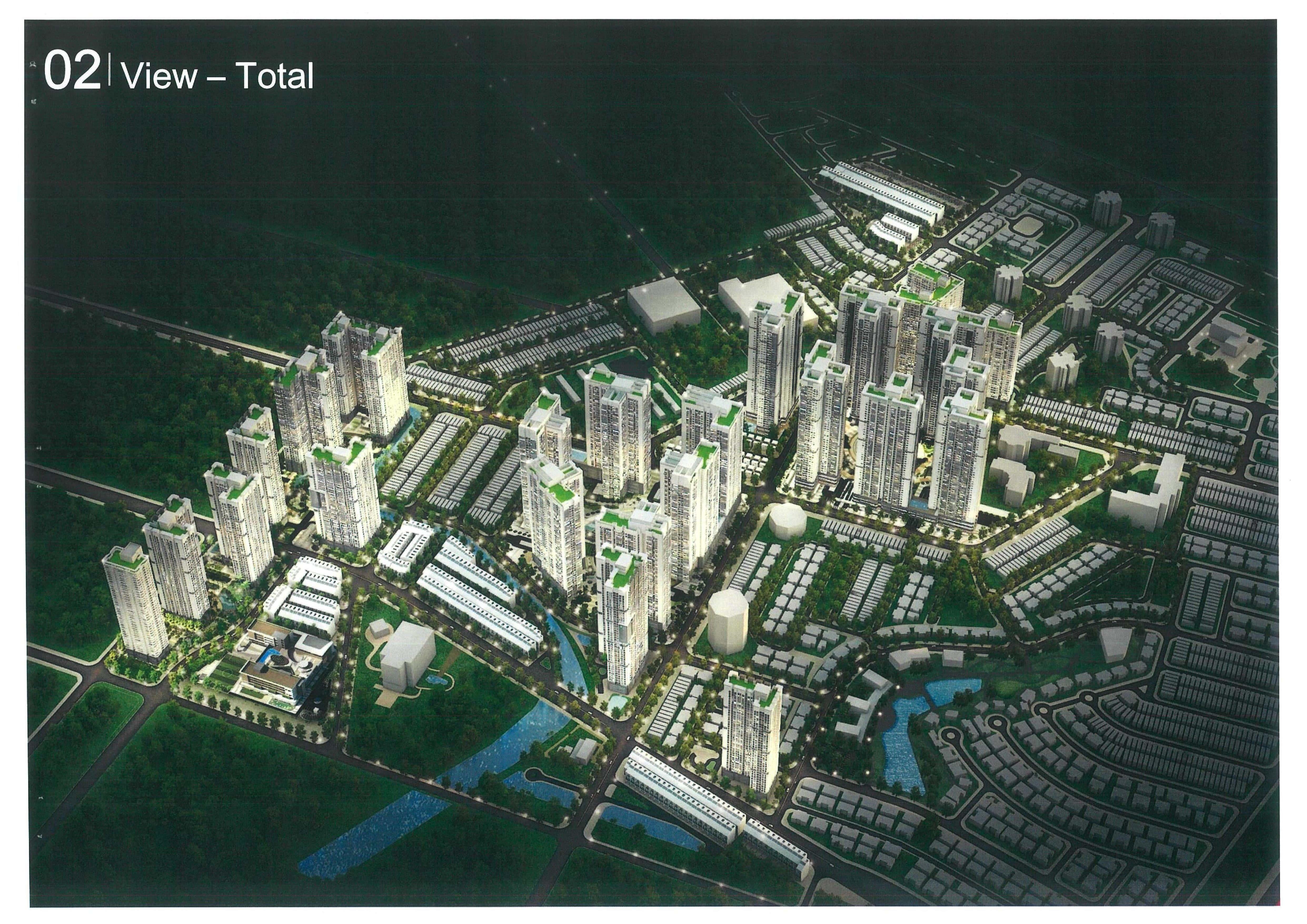 Mặt bằng tổng thể dự án Laimian city quận 2