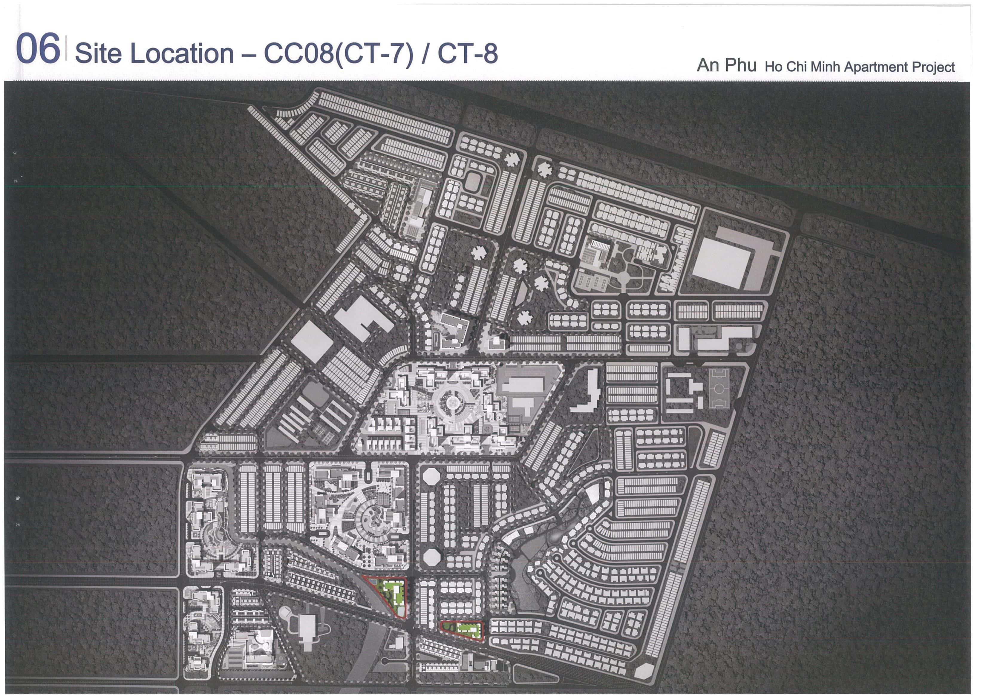 Mặt bằng tòa CT7 – CT8