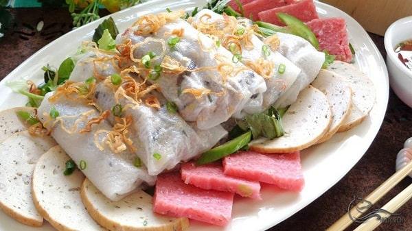 Bánh cuốn tại Quy Nhơn