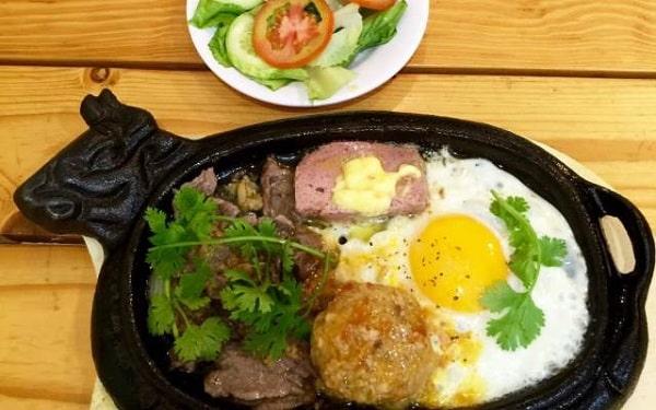 Bò né tại Quy Nhơn
