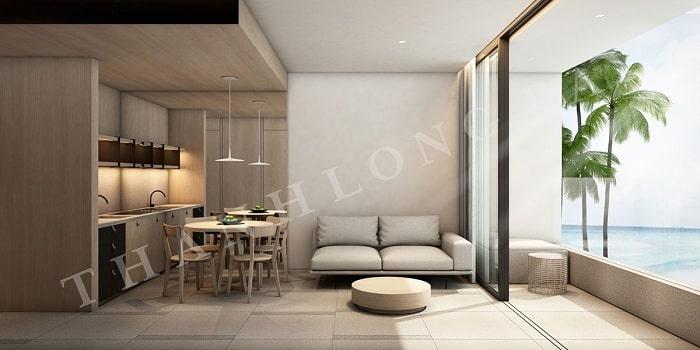 Mẫu thiết kế Căn hộ 2 Phòng Ngủ Thang Long Bay 2