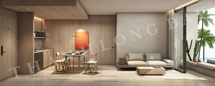 Mẫu thiết kế Căn hộ 3 Phòng Ngủ Thang Long Bay 2