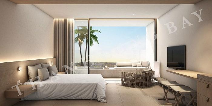 Mẫu thiết kế Căn hộ 1 Phòng Ngủ Thang Long Bay 3