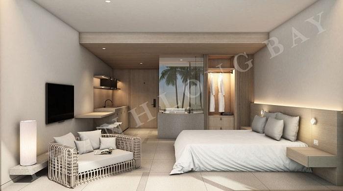Mẫu thiết kế Căn hộ 1 Phòng Ngủ Thang Long Bay 2