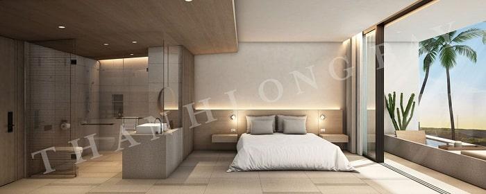 Mẫu thiết kế Căn hộ 1 Phòng Ngủ Thang Long Bay 1