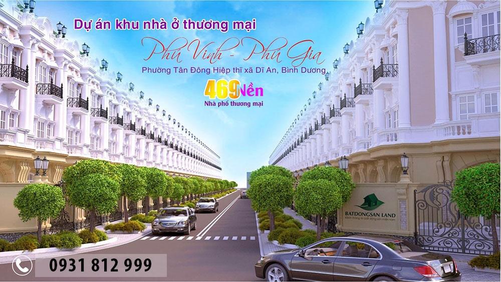 Tổng quan khu nhà ở thương mại Phú Gia - Phú Vinh Icon Central