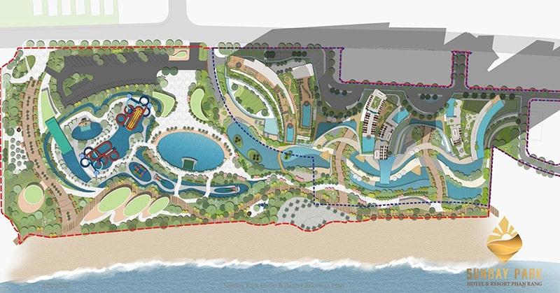 Mặt bằng dự án SunBay Park Phan Rang