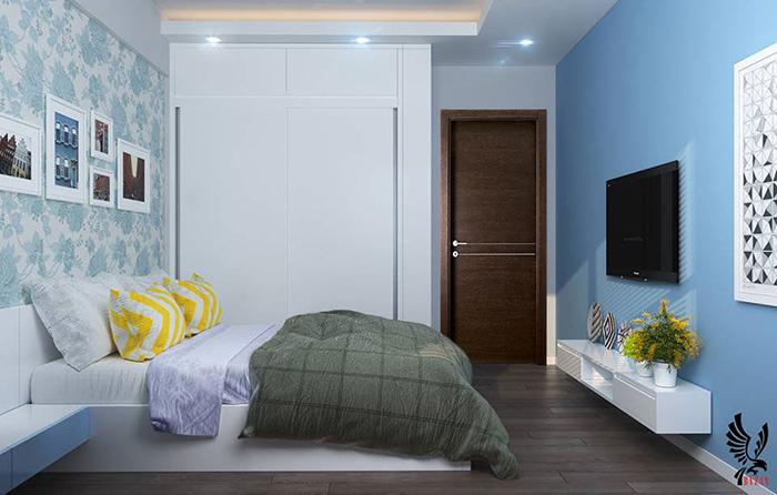 Diện tích căn hộ một ngủ đẹp