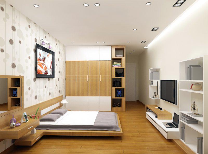 Nội thất một phòng ngủ đẹp