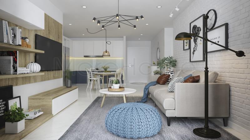 Phong cách thiết kế nội thất chung cư riêng biệt