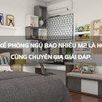 Thiết kế một phòng chung cư bao nhiêu m2 là hợp lý