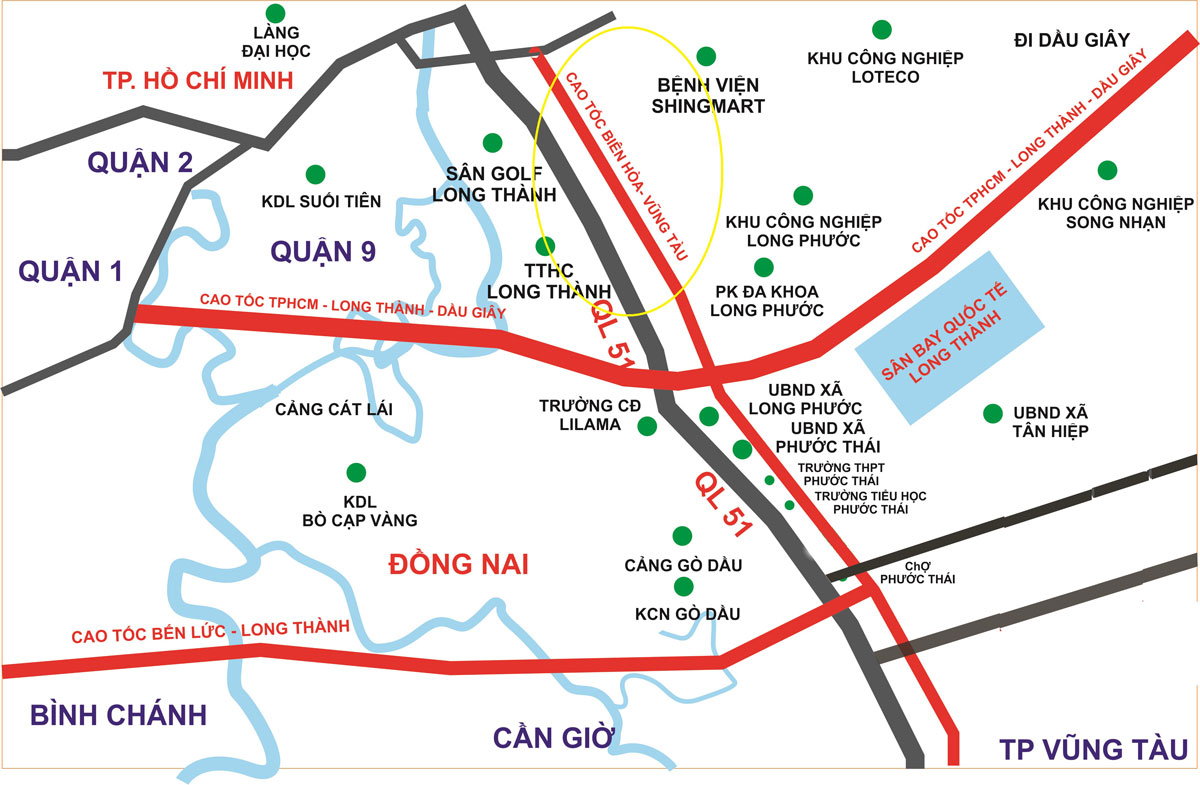 9.300 tỷ đồng làm 47 km cao tốc Biên Hòa - Vũng Tàu